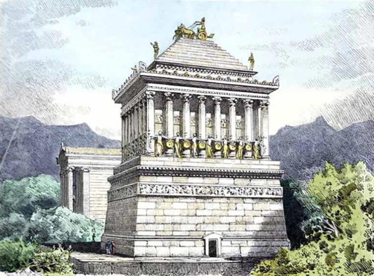 The Mausoleum of Halikarnassos, Turkey
