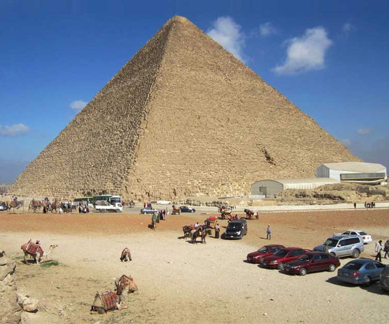 The Pyramid of Cheops, Egypt