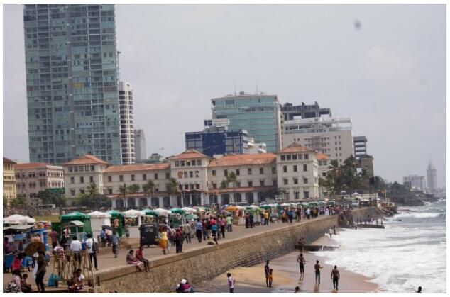 It is good to escape the Finnish winter in Colombo