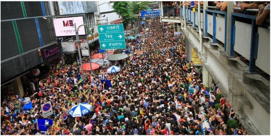Where can you celebrate Thai New Year