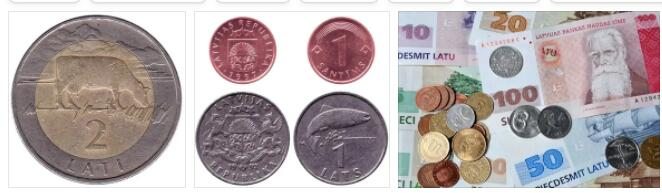 Currency in Latvia