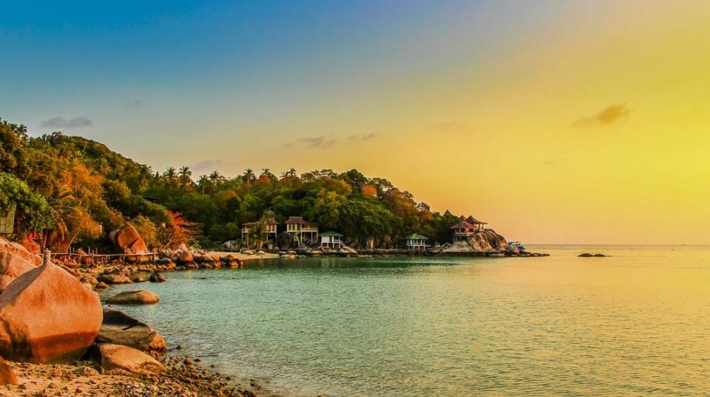 Private Villa With Views of Koh Tao